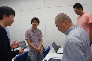 セミナー内で得た学びを積極的にシェアしあう小田さん